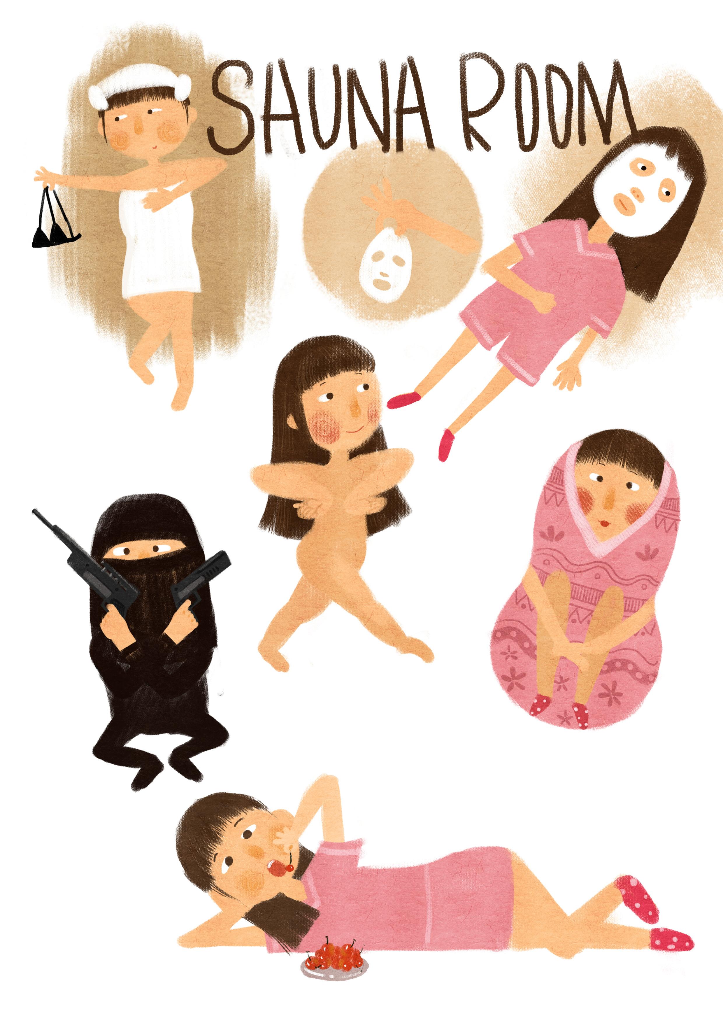 动漫手绘一系列