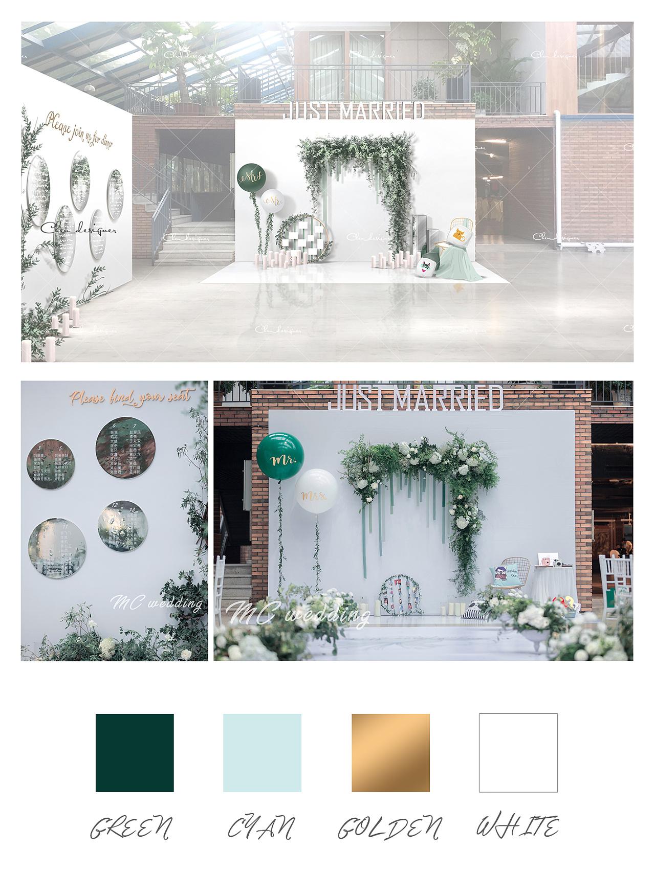 婚礼设计手绘图|空间|舞台美术|lindsay_c - 原创作品
