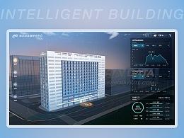 3D数据可视化Demo-智慧建筑