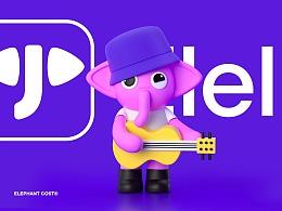 小象直播APP品牌设计