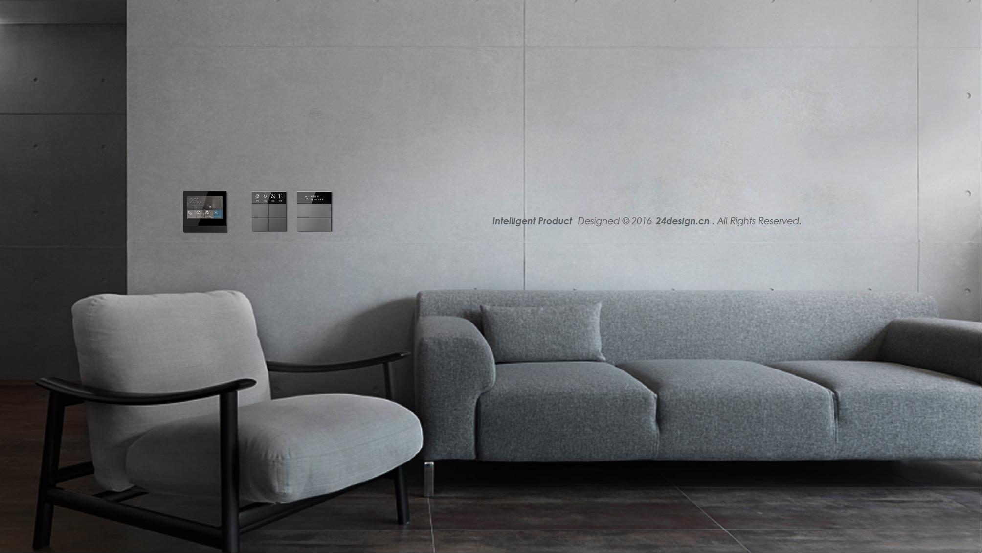 24design 智能家居网关设计 开关设计 深圳二十四设计图片