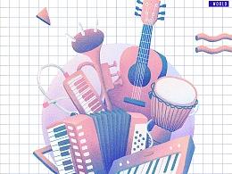音乐能够带给世界更多的美好