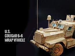 U.S. COUGAR 6X6 MRAPVFHICLE