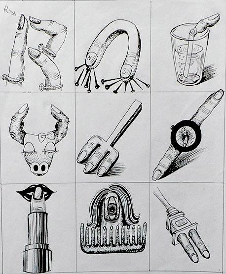 大二,图形创意,手绘制作