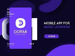 Dormi·音乐APP设计