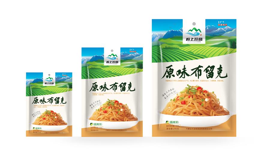 内蒙古千百味食品包装设计