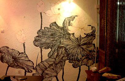 手绘墙(餐厅)