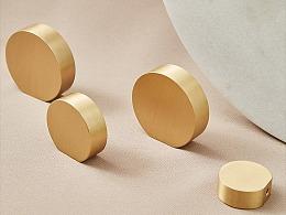 屿铜拉手|素金系列纯铜拉手