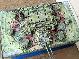 记一次包装大作业 (1/144 SMK-7A陆地突击要塞原型)