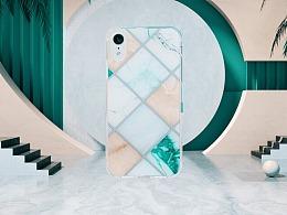 Marble Slim Case / 大理石菱格系列