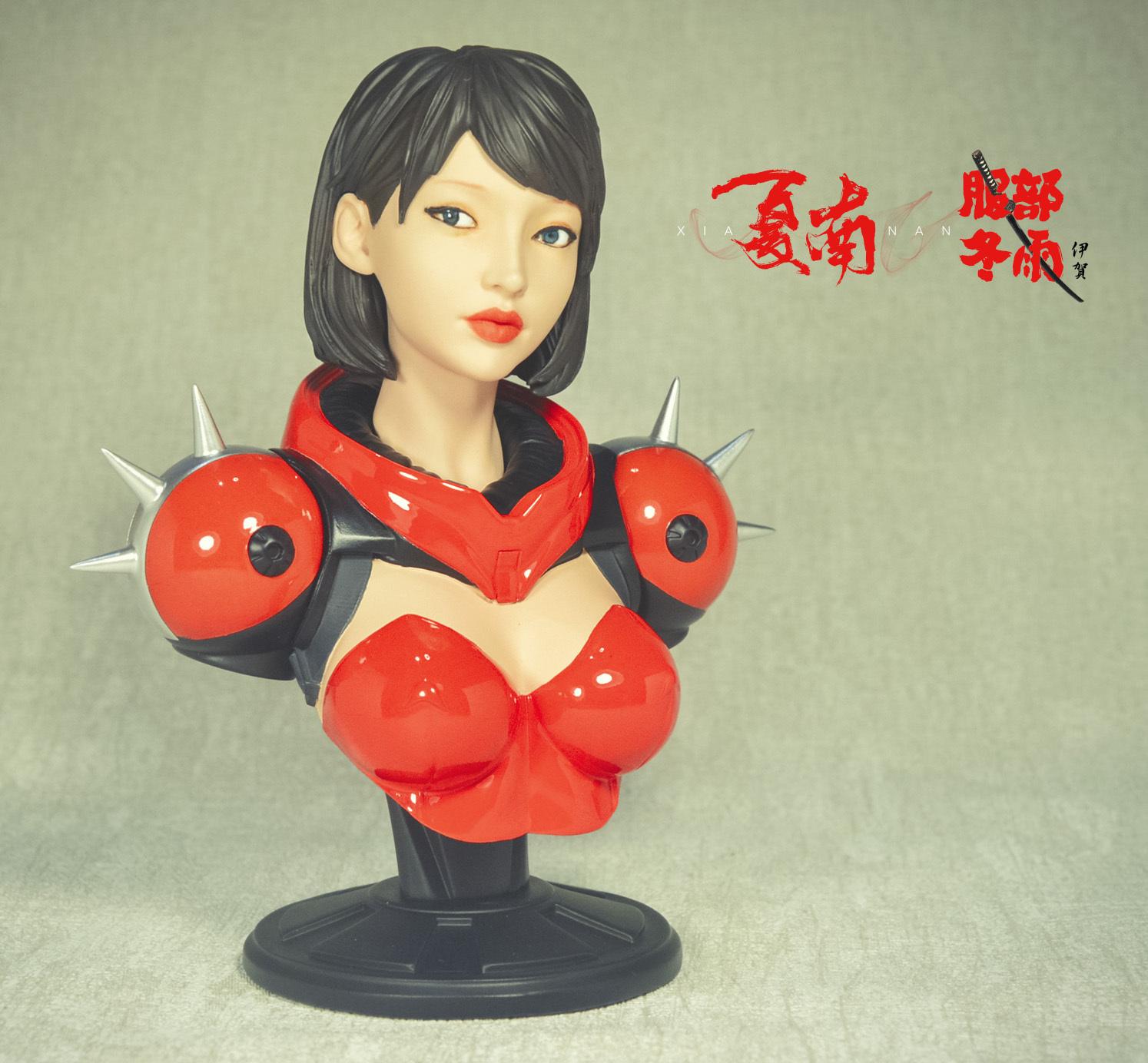gk胸像 1:6 红衣忍者