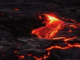 沉默的熔岩