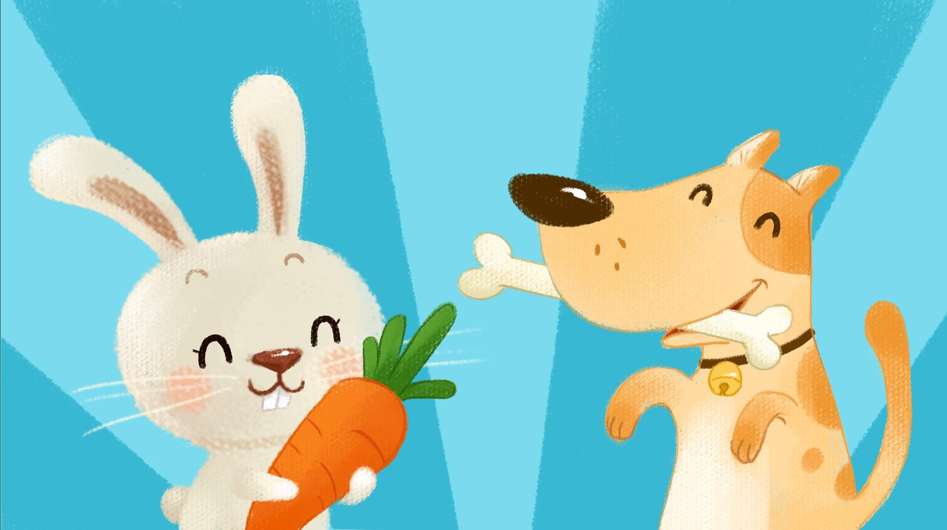 2015部分商稿-动画儿歌《宠物歌》图片
