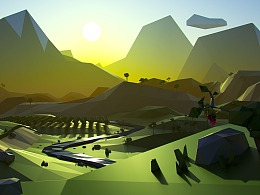 Onemi | Low Poly Landscapes