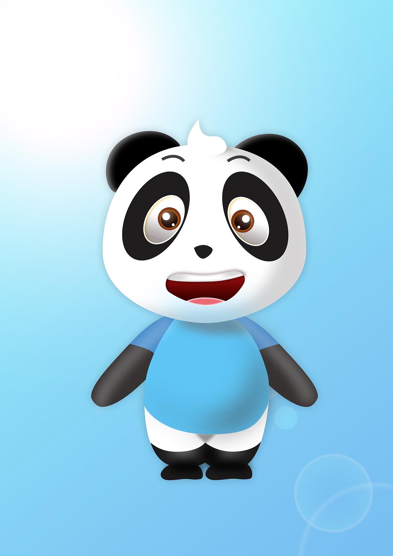 萌萌哒 大熊猫