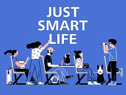 Just Smart Life |蔡司智锐镜片系列包装