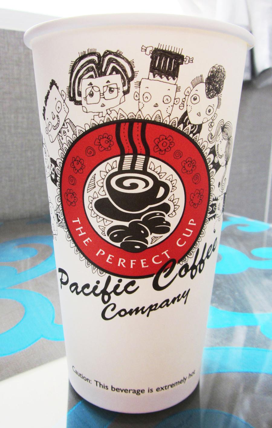 手绘咖啡杯
