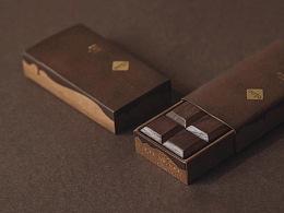 ciao黑胡桃木冰箱贴包装设计