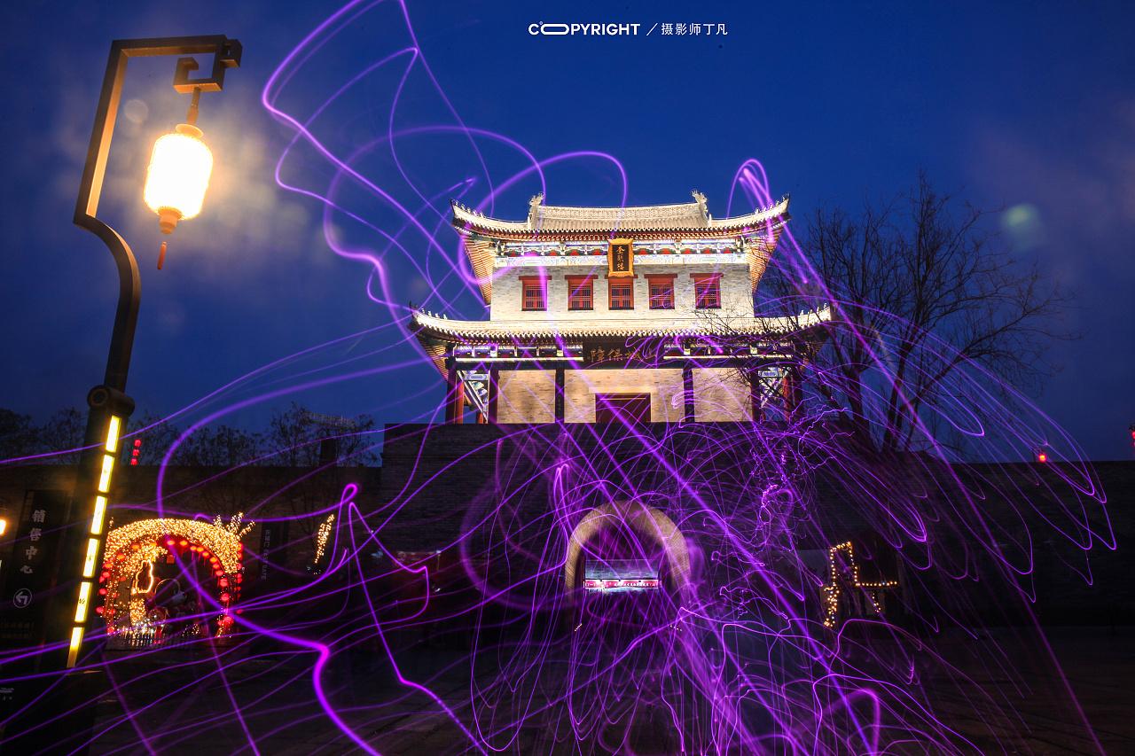 青岛,即墨古城.