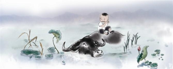 牧童|其他绘画|插画|蓝寞寒19890202 - 原创设计作品图片