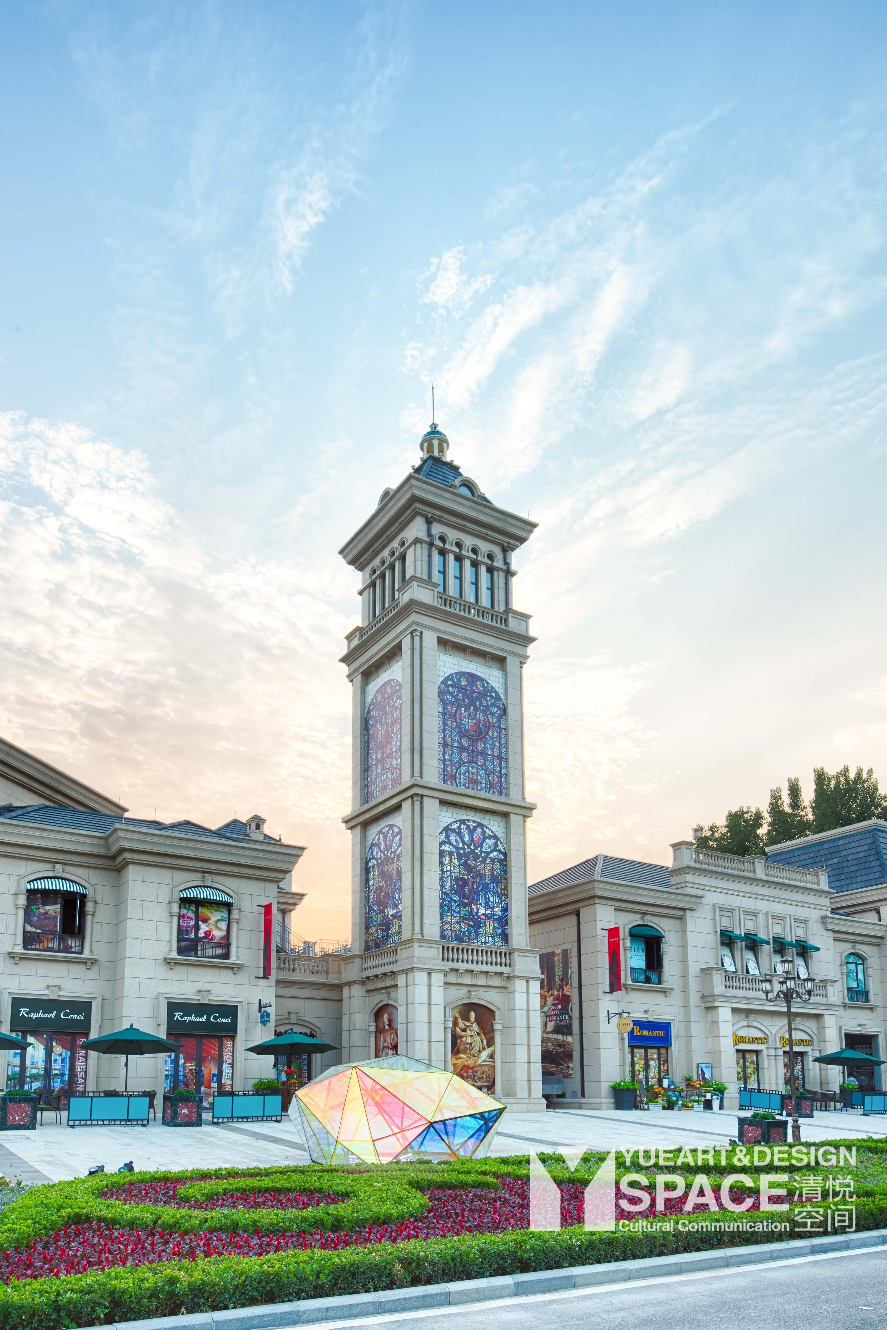 商业街软装清悦空间郑州鸿宝经验商街软装设计建筑设计公司实习地产图片