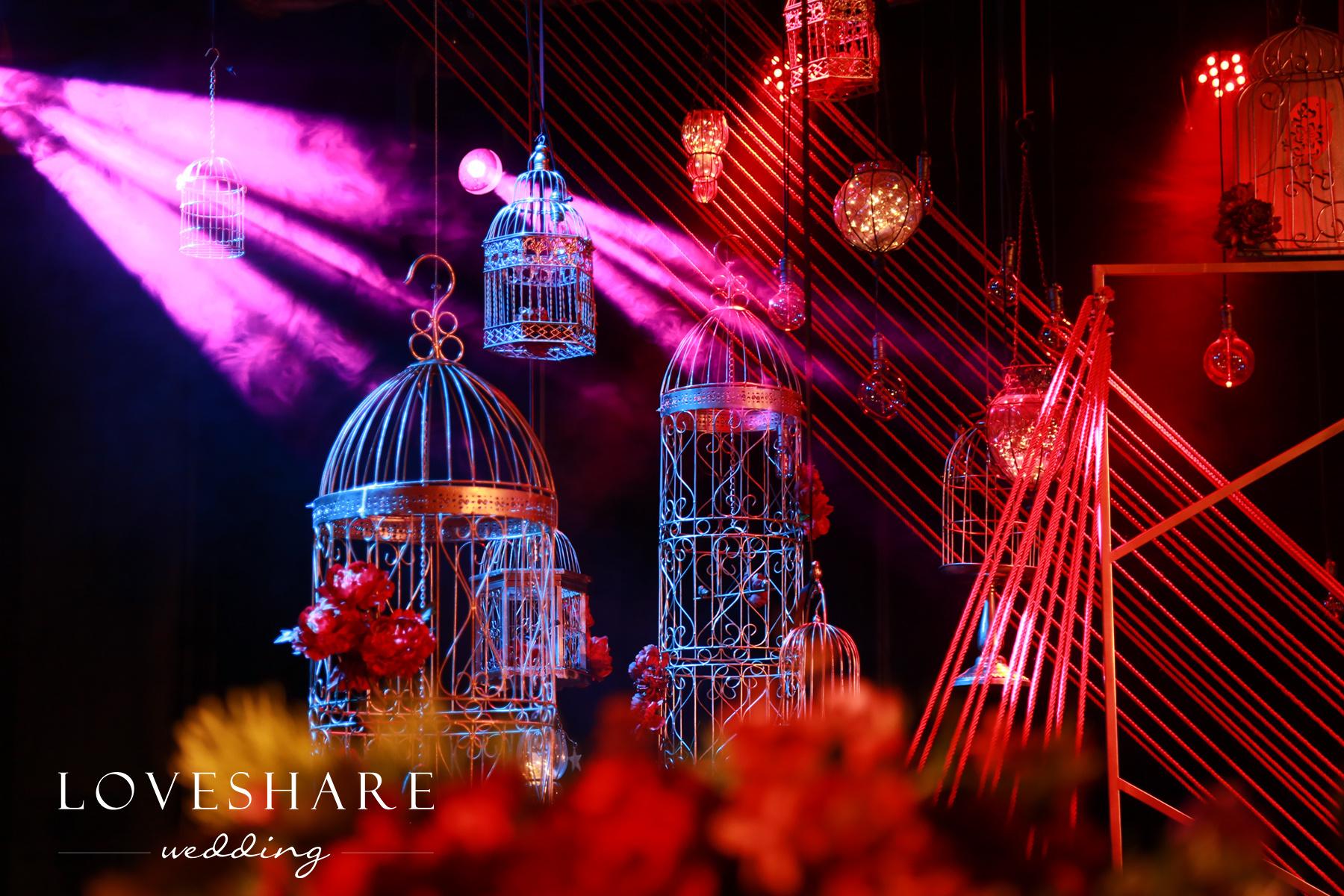 紫金山庄 几何元素婚礼|空间|舞台美术|loveshare爱享