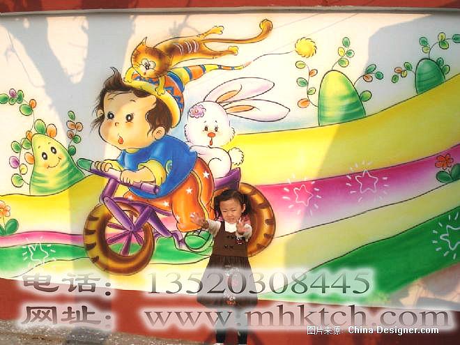 幼儿园墙体卡通彩绘