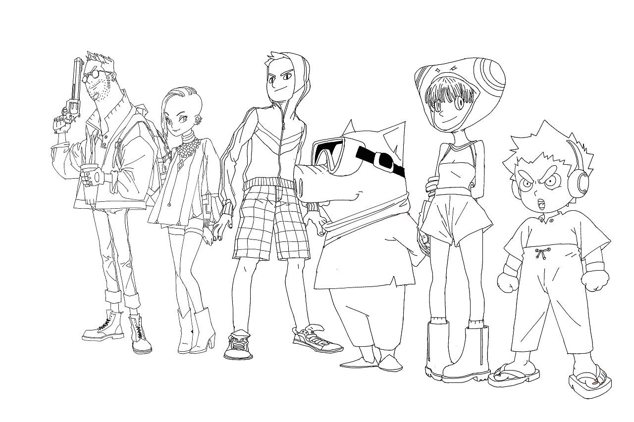 极品妖猪_一组漫画角色|动漫|单幅漫画|极品猪妖 - 原创作品 - 站酷 (ZCOOL)