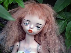 BJD 球形关节人偶  (自制陶瓷娃娃 25厘米)