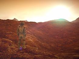 C4D原创作品--《Astronaut》