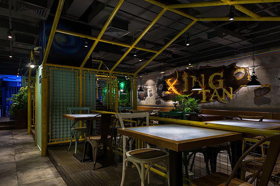 正餐店 · 餐饮空间设计_烤鱼店 星炭锅锅香