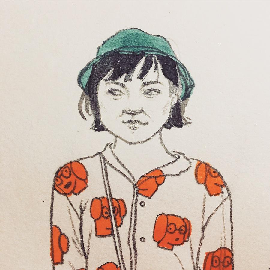 京剧手绘人物唯美图片彩铅