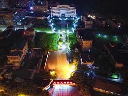 太湖学院夜景
