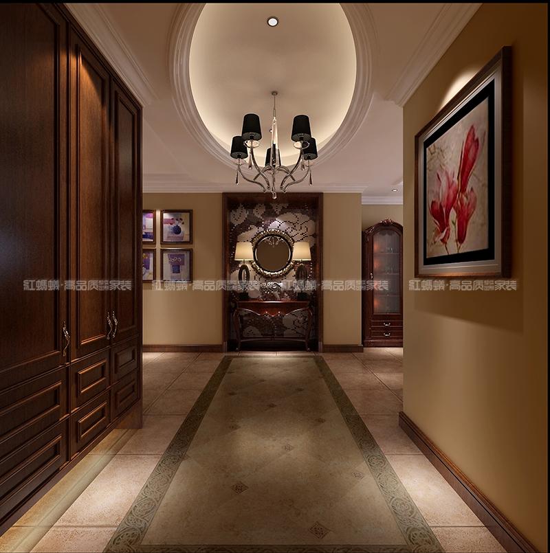 红蚂蚁装饰欧式新古典效果图|室内设计|空间/建筑|红