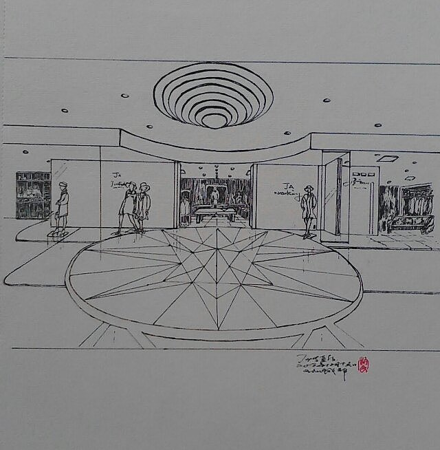 钢笔画——室内设计练习