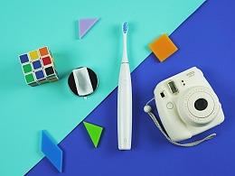 oclean电动牙刷产品摄影