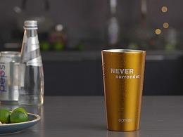 电商主图视频   othello不锈钢双层啤酒杯 ✖ 三拾传媒