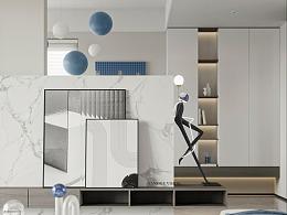 现代风格·蓝
