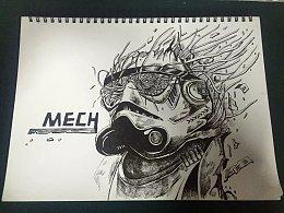 机械师 手绘