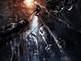 电影《谜巢》逃出生天版先导海报