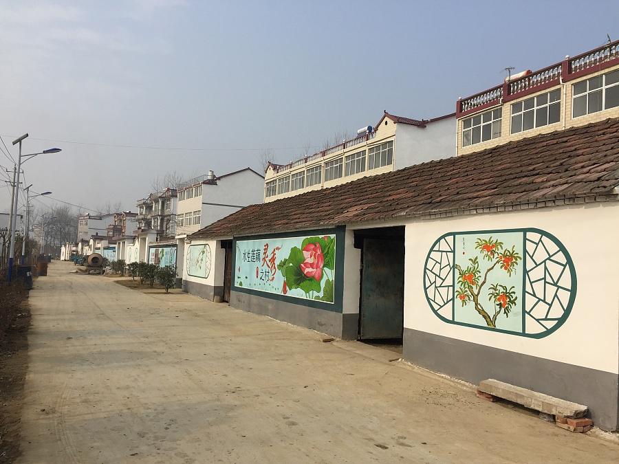 围墙彩绘素材,新农村文化墙绘设计,乡村文化墙,墙体画图片