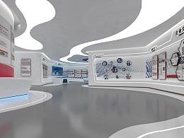 科技展厅农商行展设计
