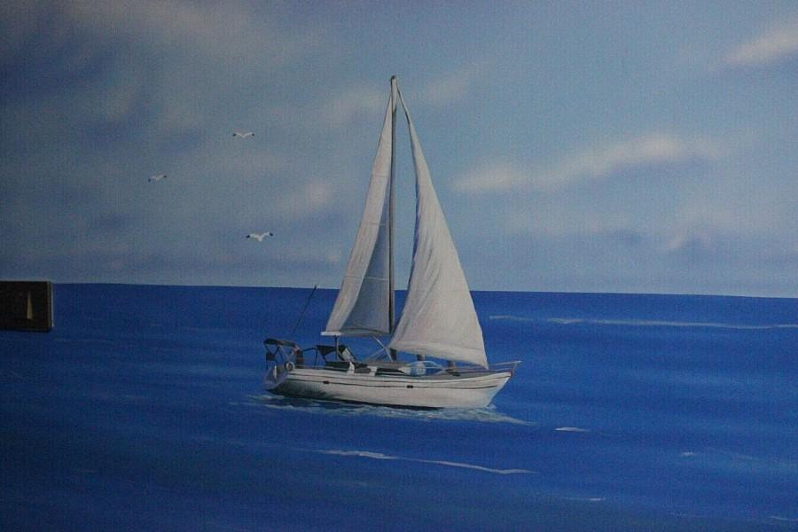 手绘地中海
