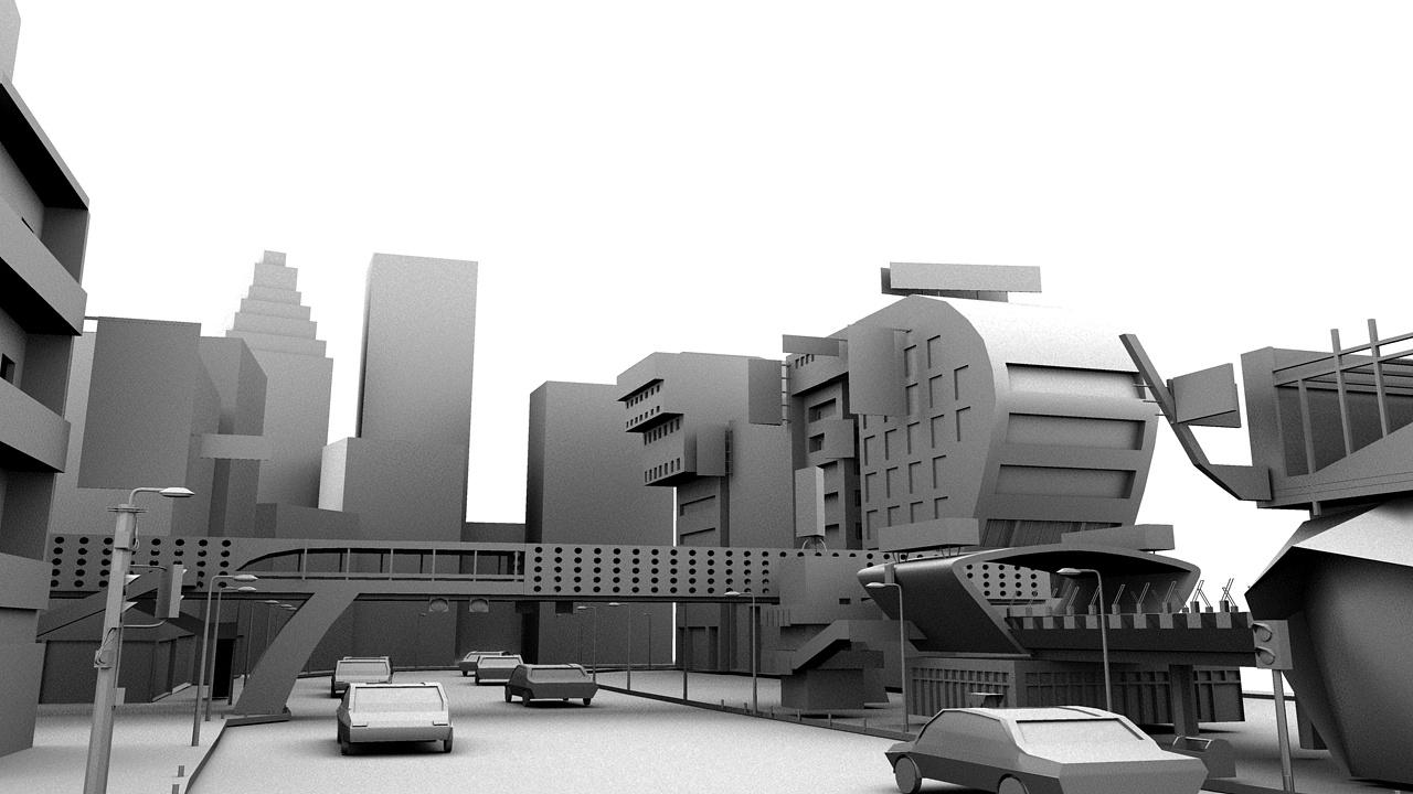 maya建模|三维|场景|大于雪 - 原创作品 - 站酷图片