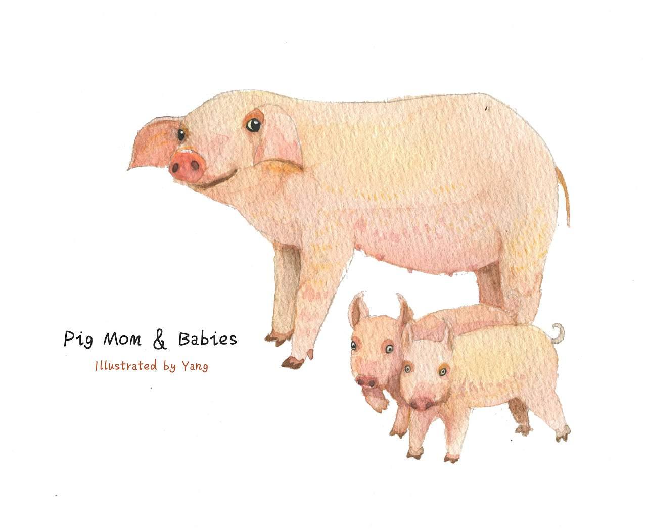 动物妈妈和宝宝