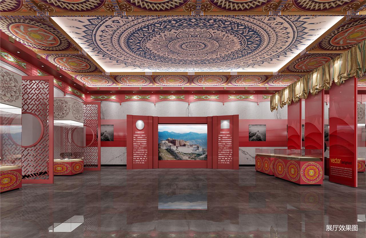 玉树藏族自治州灾后纪念馆设计|空间|室内设计|王大智图片