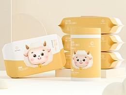 QIN湿巾品牌包装项目设计