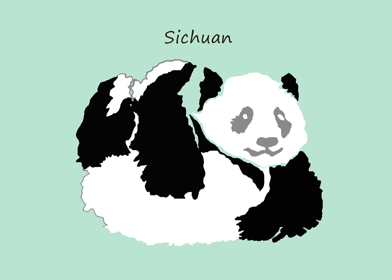 四川-大熊猫
