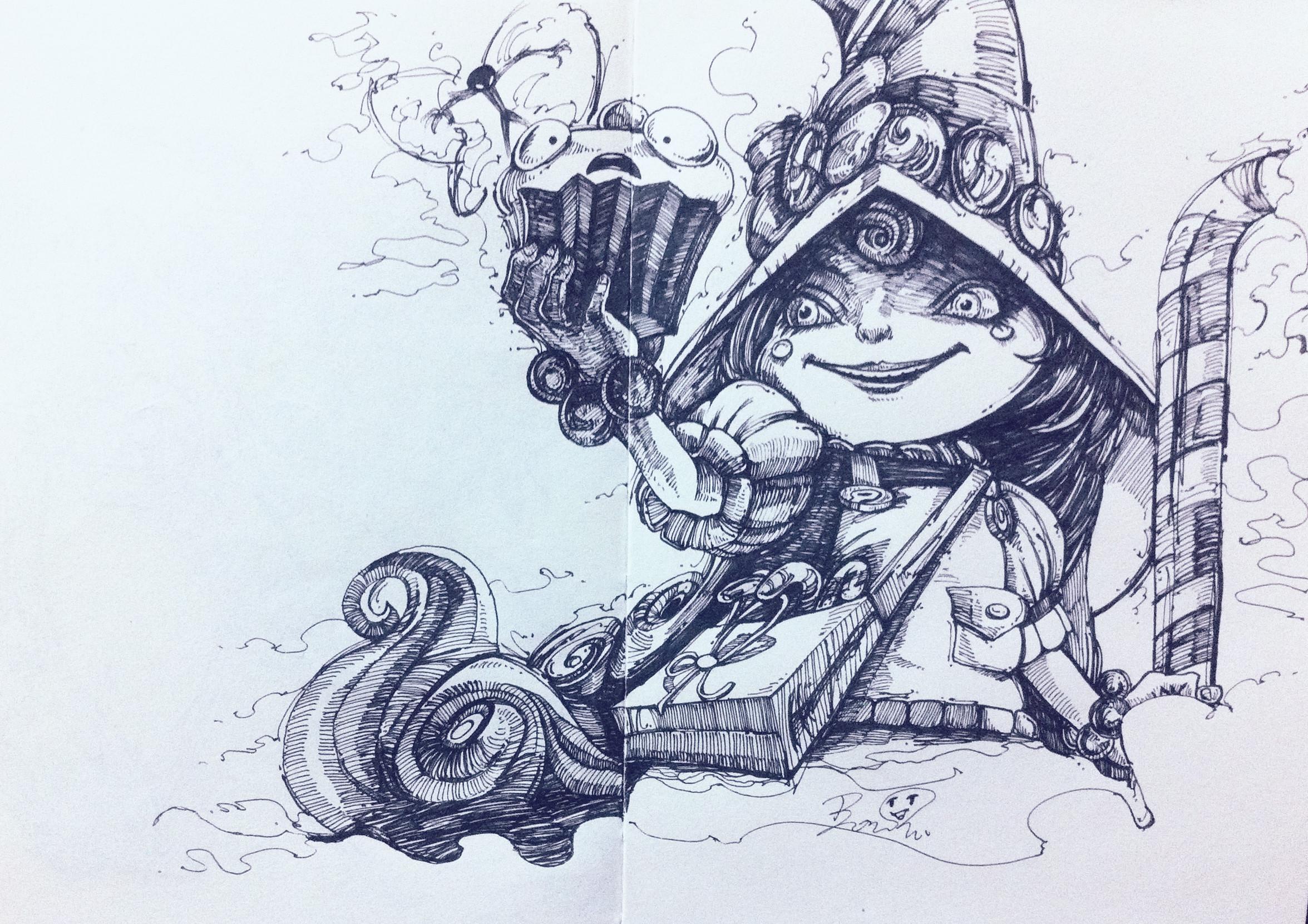 仙灵女巫璐璐图片