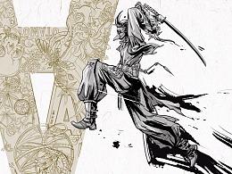 《墨道剑意》剑客系列插图